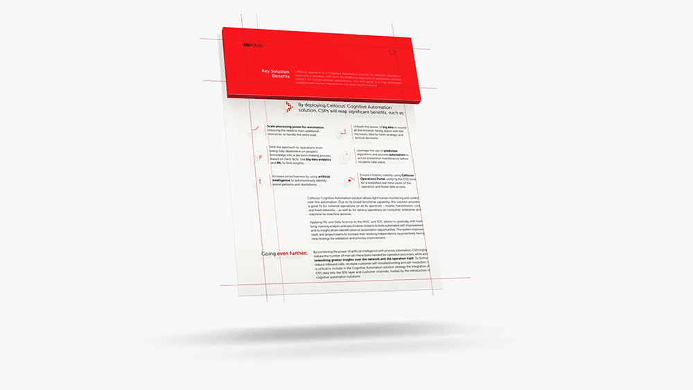 maintaining simple page structures and making the most of the brand colours