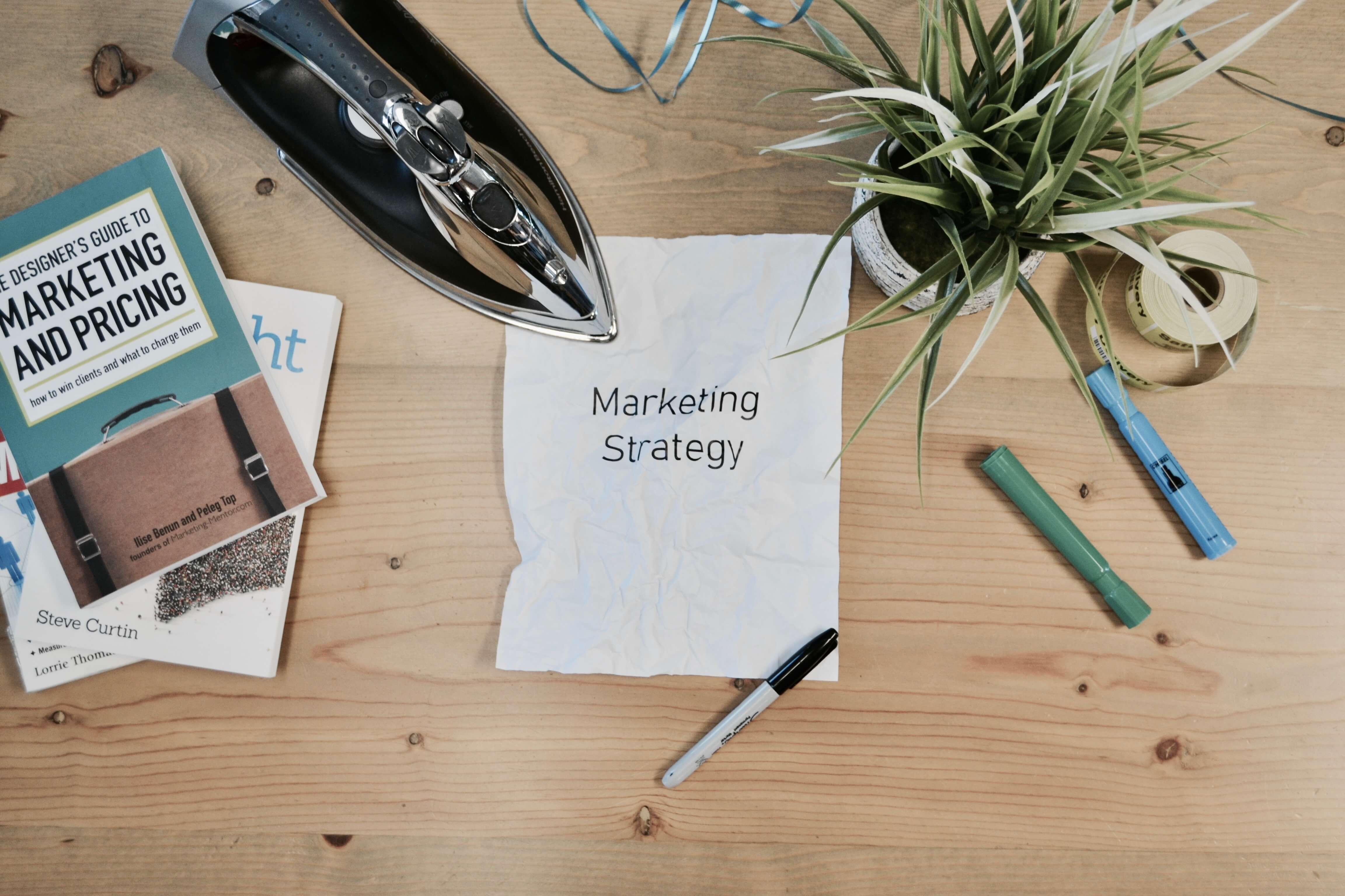 Marketing Strategy Sign Hi Interactive