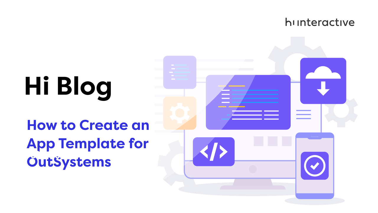 How to create an App Template for OutSystems