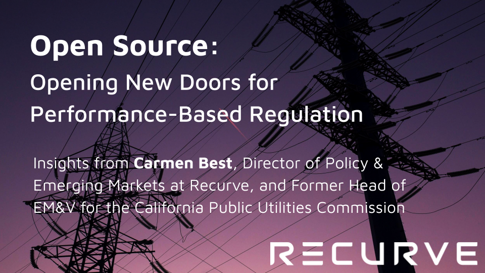 Open Source: Opening New Doors for Performance-Based Regulation