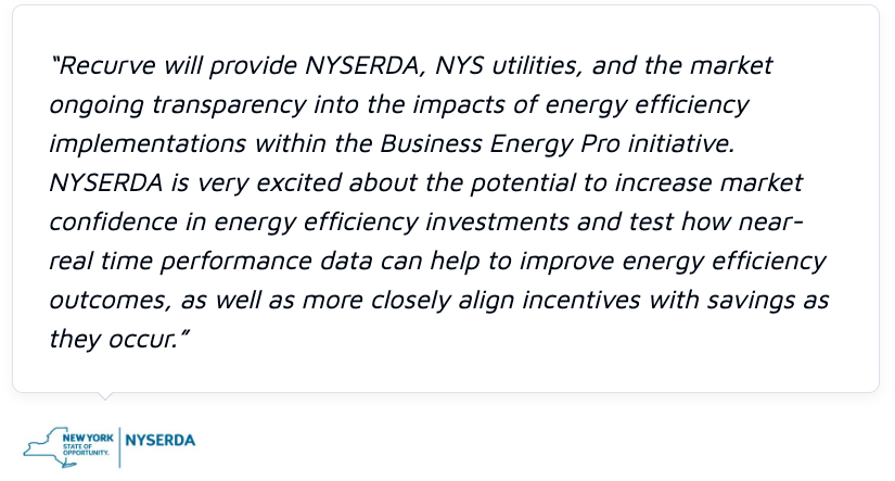 NYSERDA P4P is an Important Opportunity for Efficiency