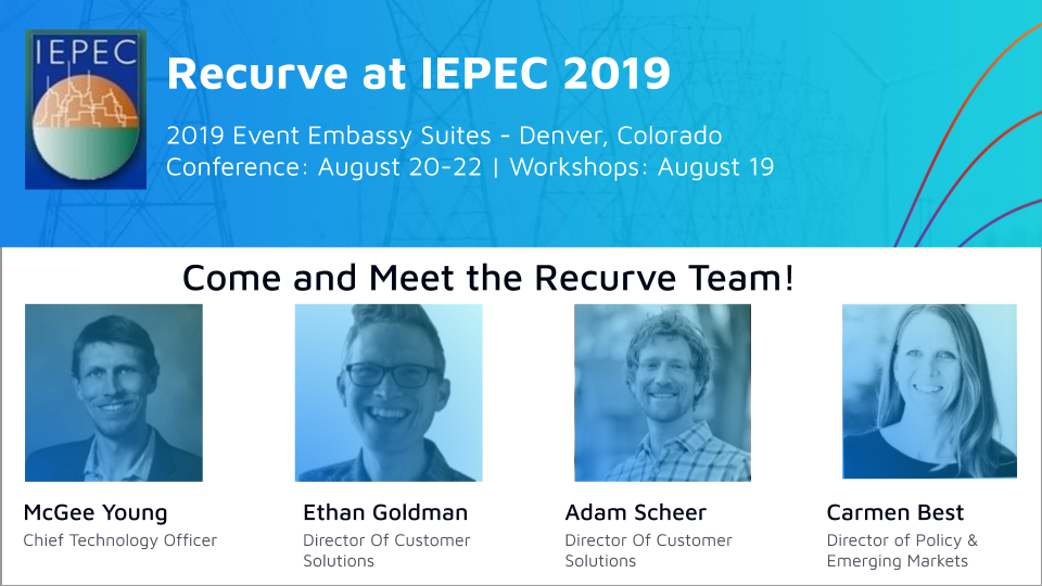 The Recurve Team at the IEPEC 2019