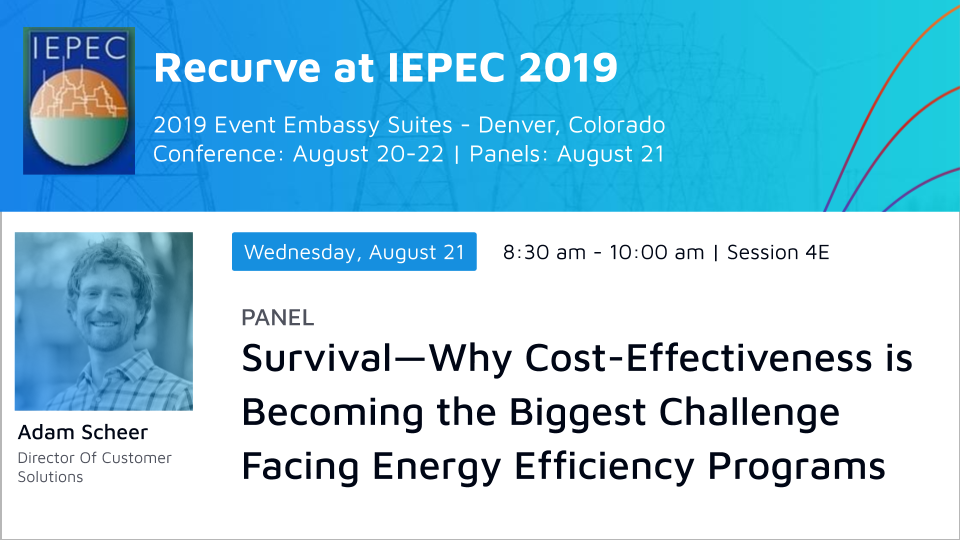 IEPEC Panel: Survival--Why Cost-Effectiveness is Becoming the Biggest Challenge Facing Energy Efficiency Programs