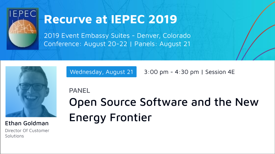 IEPEC Panel:Open Source Software and the New Energy Frontier