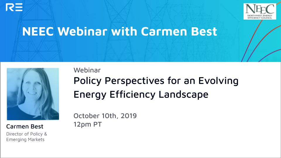 Policy Perspectives for an Evolving Energy Efficiency Landscape