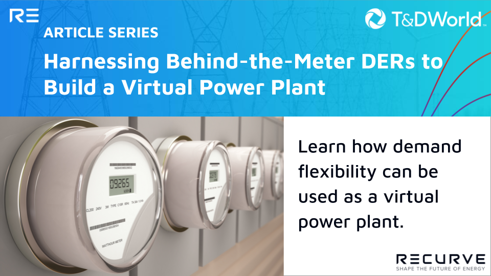 Harnessing Behind-the-Meter DERs to Build a Virtual Power Plant