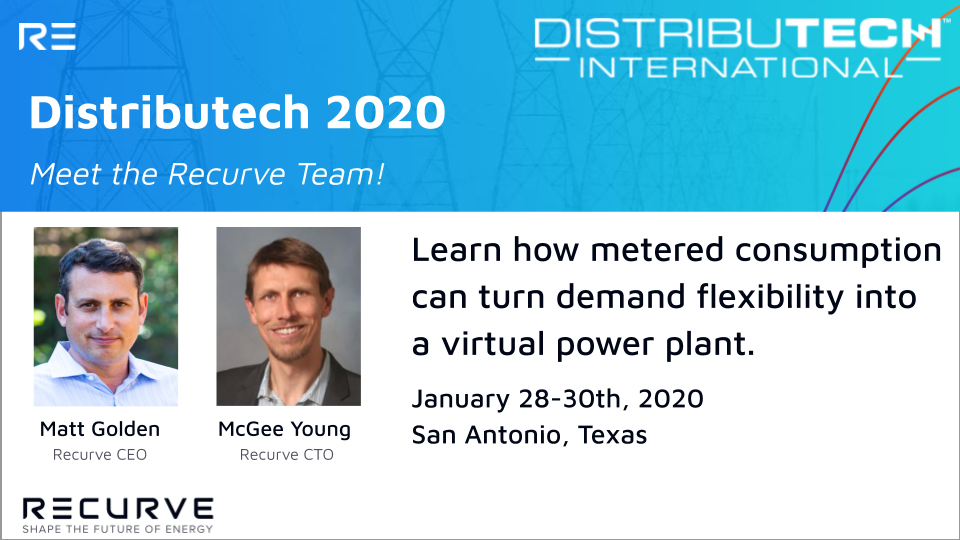 Meet the Recurve Team at Distributech 2020