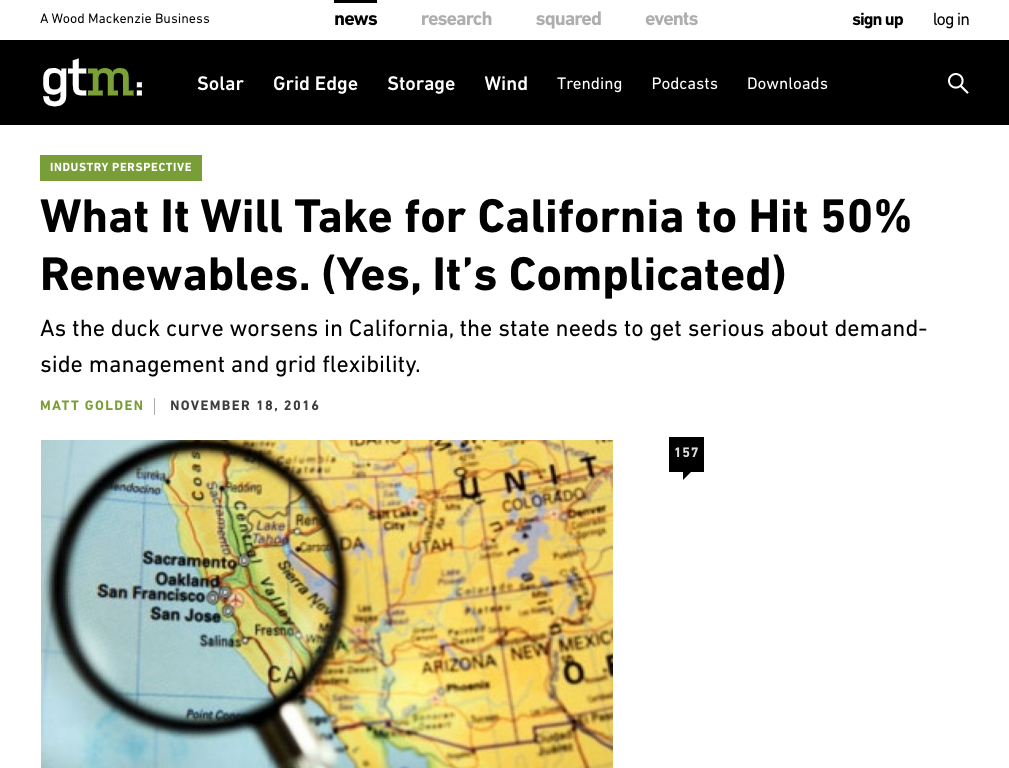 What It Will Take for California to Hit 50% Renewables. (Yes, It's Complicated)