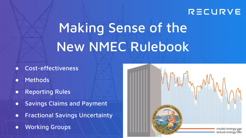How to Make the New Mandatory NMEC Rulebook Work for Your Program