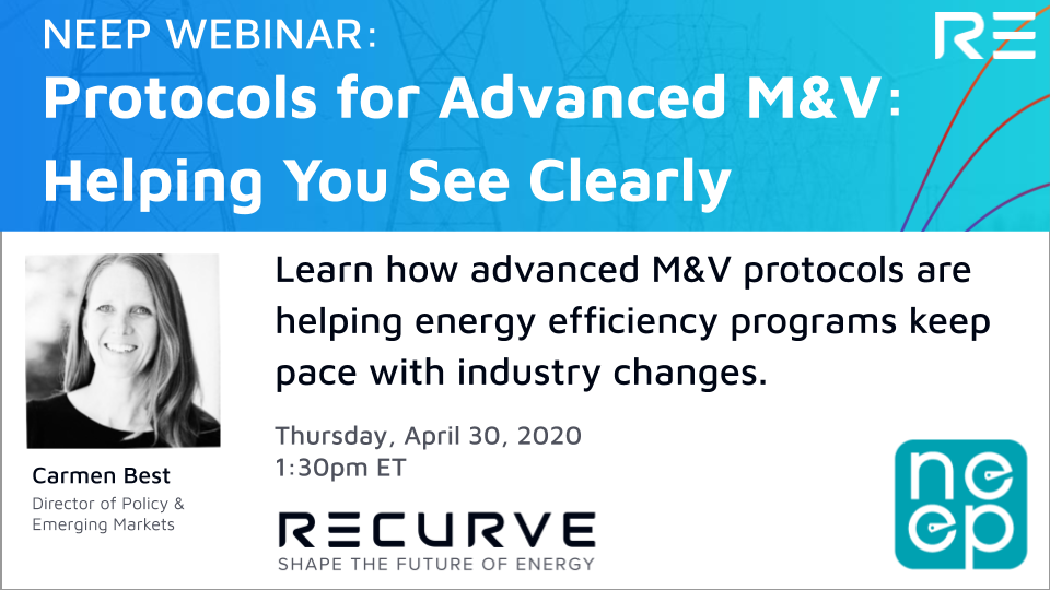 Protocols for Advanced M&V: Helping You See Clearly
