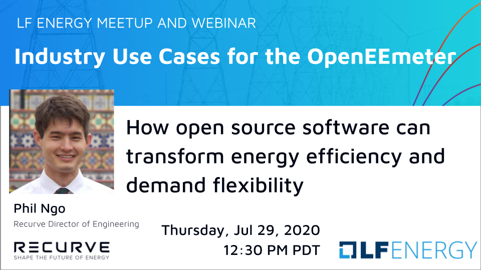 Webinar: Industry Use Cases for the OpenEEmeter