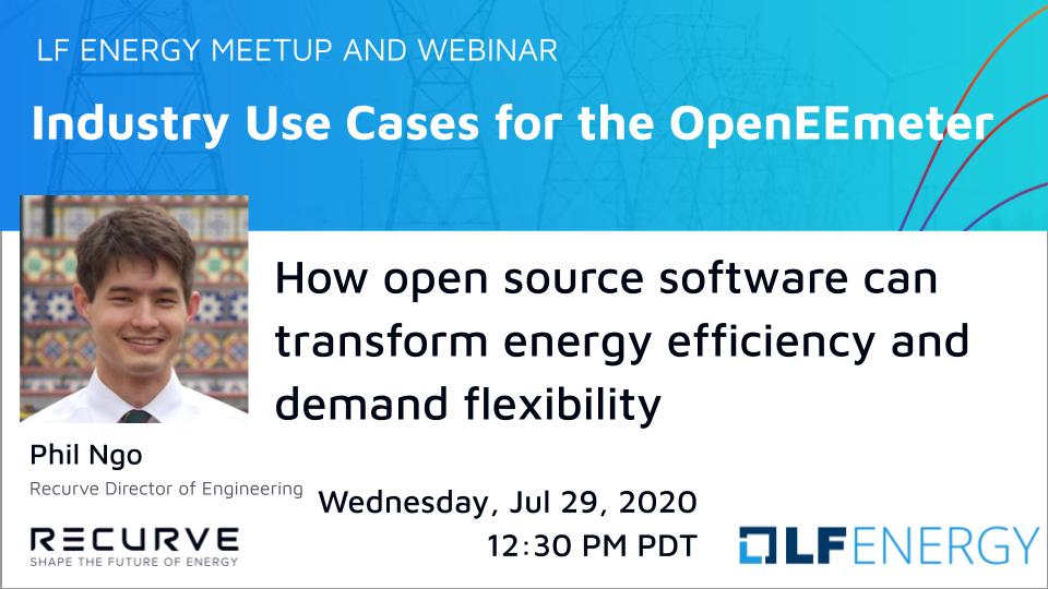 Webinar: Industry Use Cases for the OpenEEmeter
