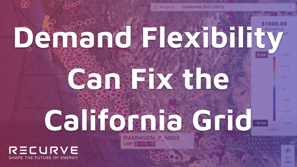 Demand Flexibility Can Fix the California Grid