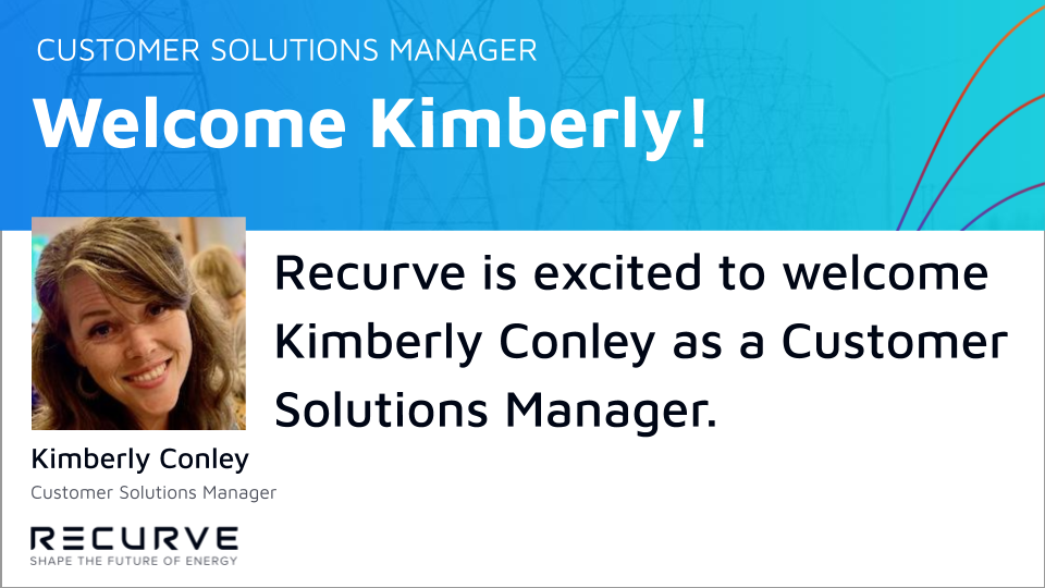 Recurve is Excited to Welcome Kimberly Conley as Customer Solutions Manager!