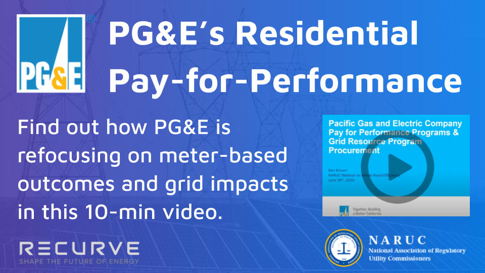 VIDEO: PG&E's Residential Pay-for-Performance Program