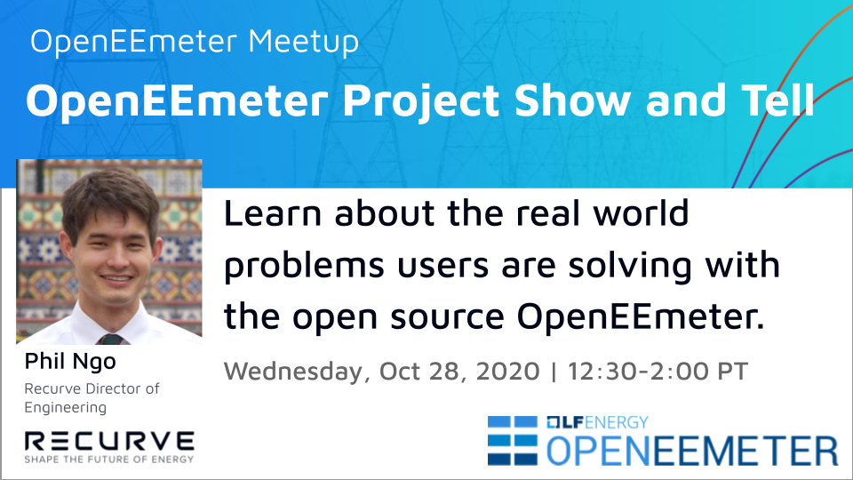 Meetup: OpenEEmeter Project Show and Tell