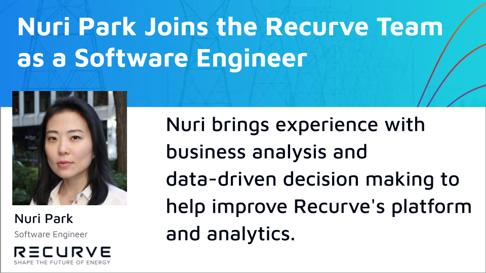 Recurve is Excited to Welcome Nuri Park as a Software Engineer!