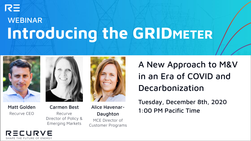 COVID Has Rendered Traditional M&V Obsolete. Learn how the GRIDmeter Can Make it Work Again.
