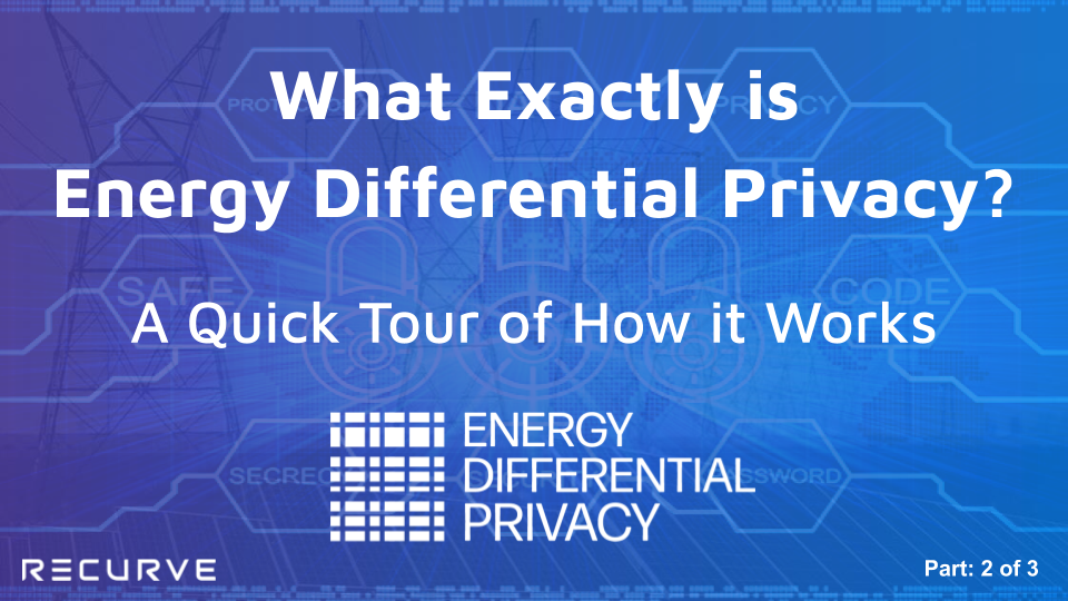What Exactly is  Energy Differential Privacy? A Quick Tour of How it Works. (Part 2 of 3)