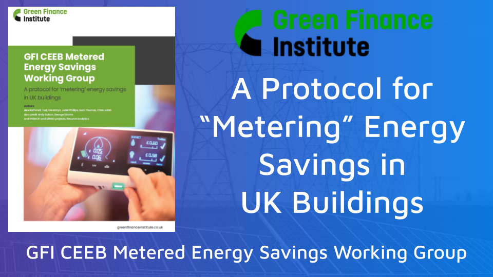 Report: How Metered Energy Savings Can Transform Demand Flexibility in the U.K.