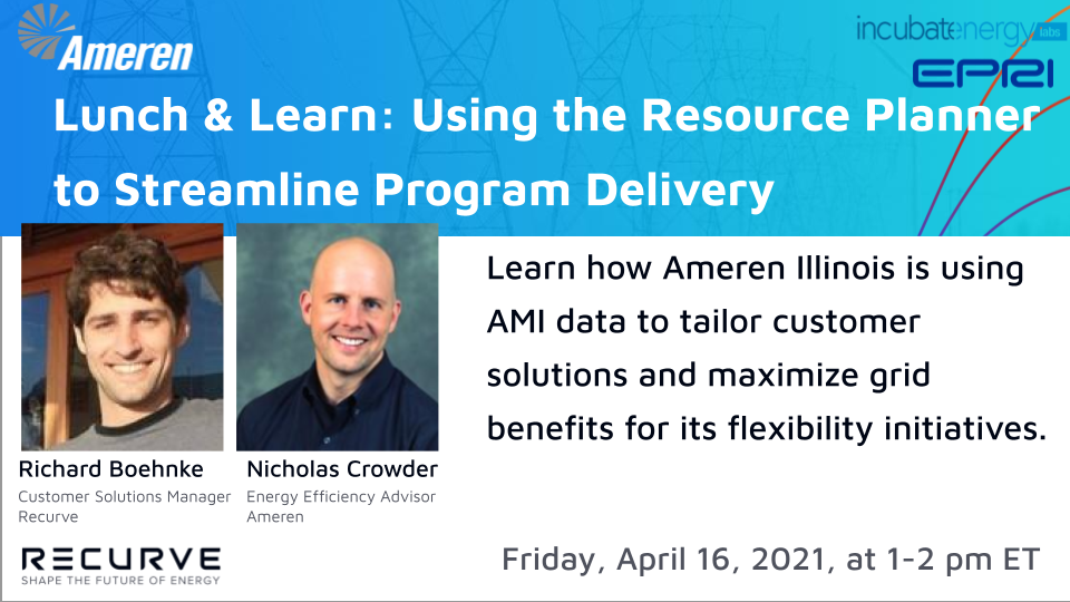 Lunch & Learn: Using the Resource Planner to Streamline Program Delivery