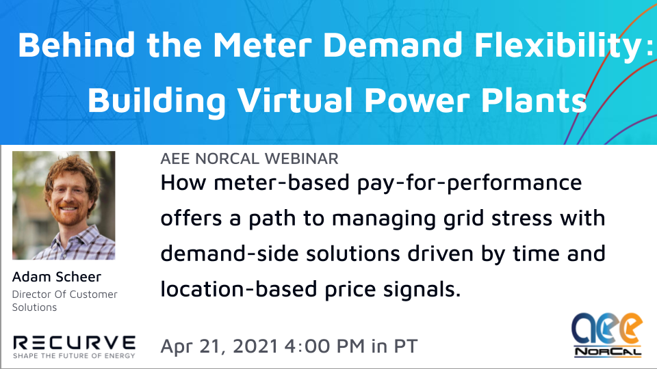 Behind the Meter Demand Flexibility -- Building Virtual Power Plants