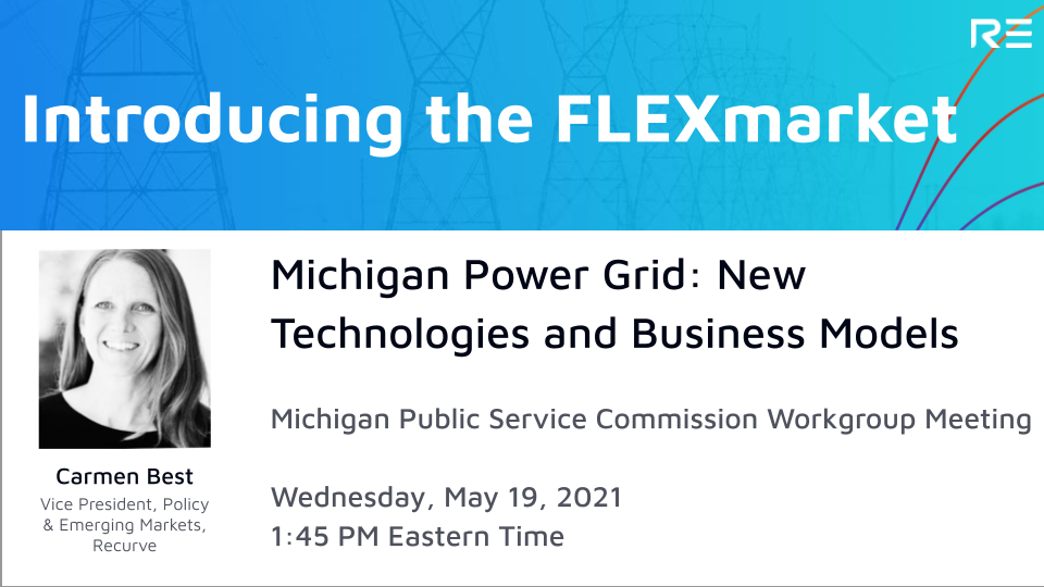 Working Group Meeting: Introducing the Demand FLEXmarket