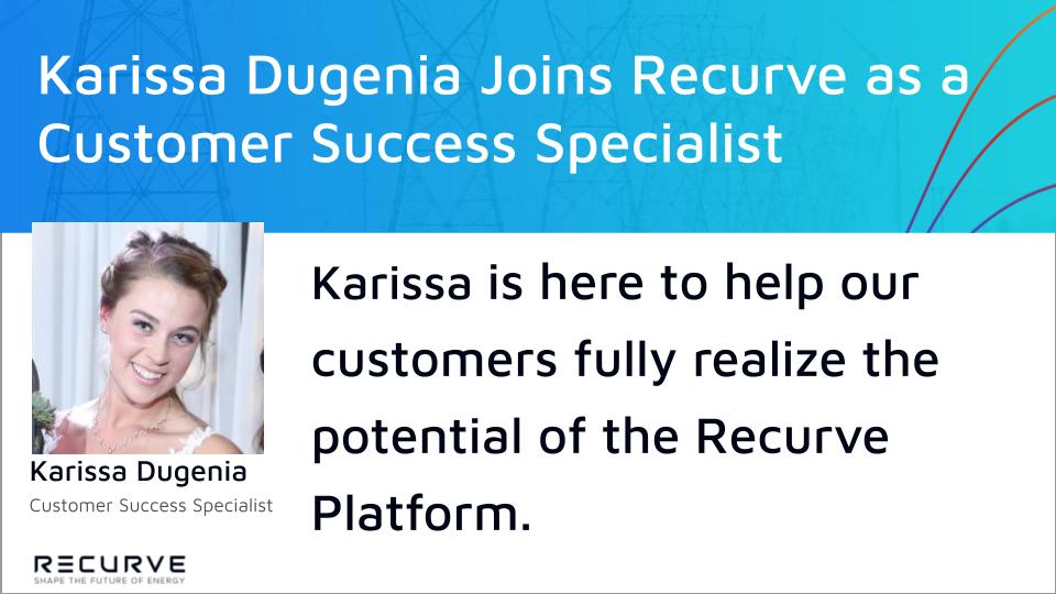 Karissa Dugenia Joins Recurve as a Customer Success Specialist