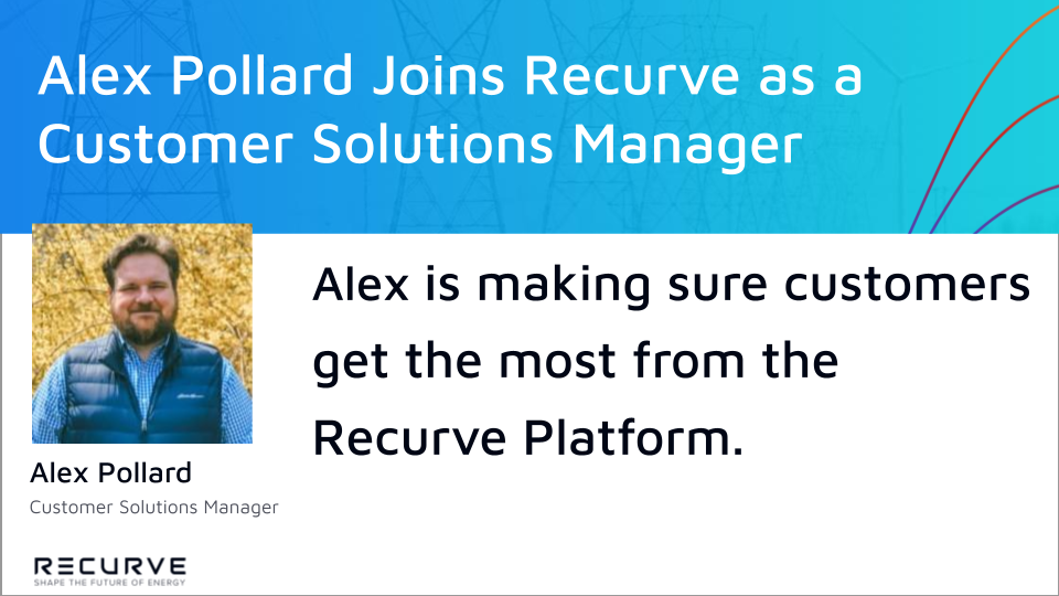 Alex Pollard Joins Recurve as a Customer Solutions Manager