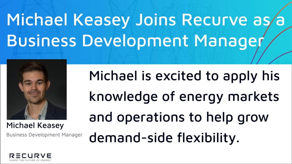 Michael Keasey Joins Recurve as a Business Development Manager