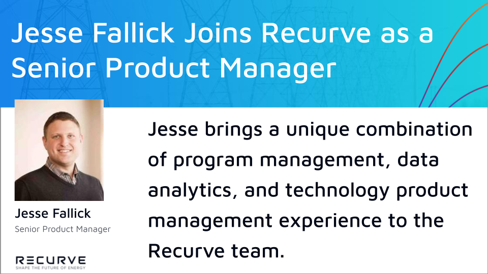 Jesse Fallick Joins Recurve as a Senior Product Manager