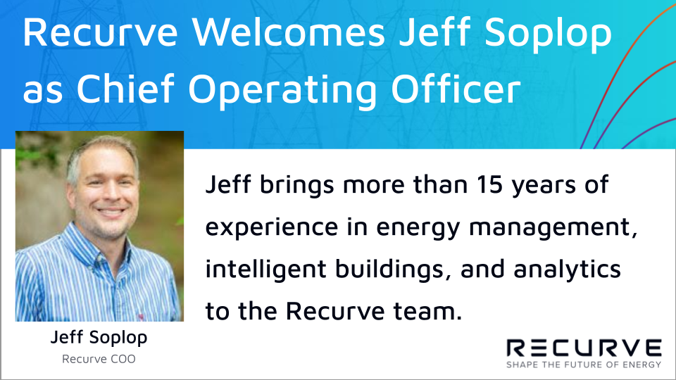 Recurve Welcomes Jeff Soplop as Chief Operating Officer