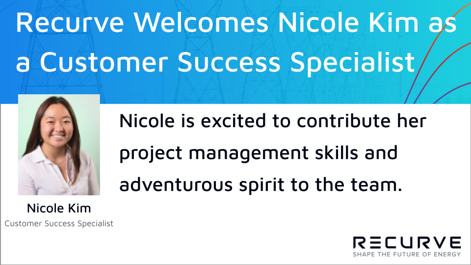 Recurve Welcomes Nicole Kim as a Customer Success Specialist