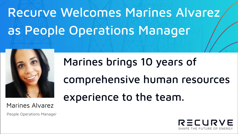 Recurve Welcomes Marines Alvarez as People Operations Manager