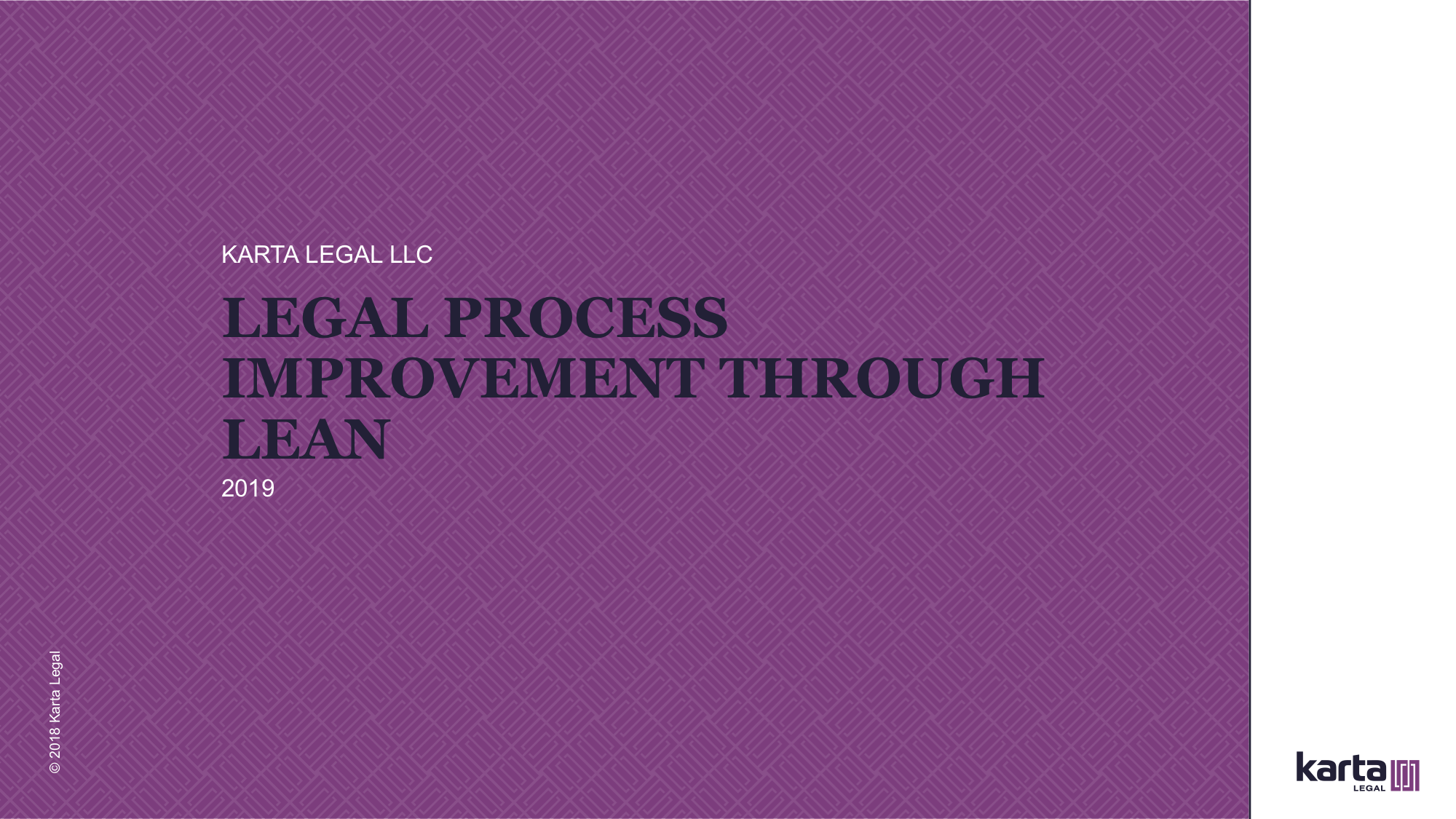 Legal Process improvement through Lean