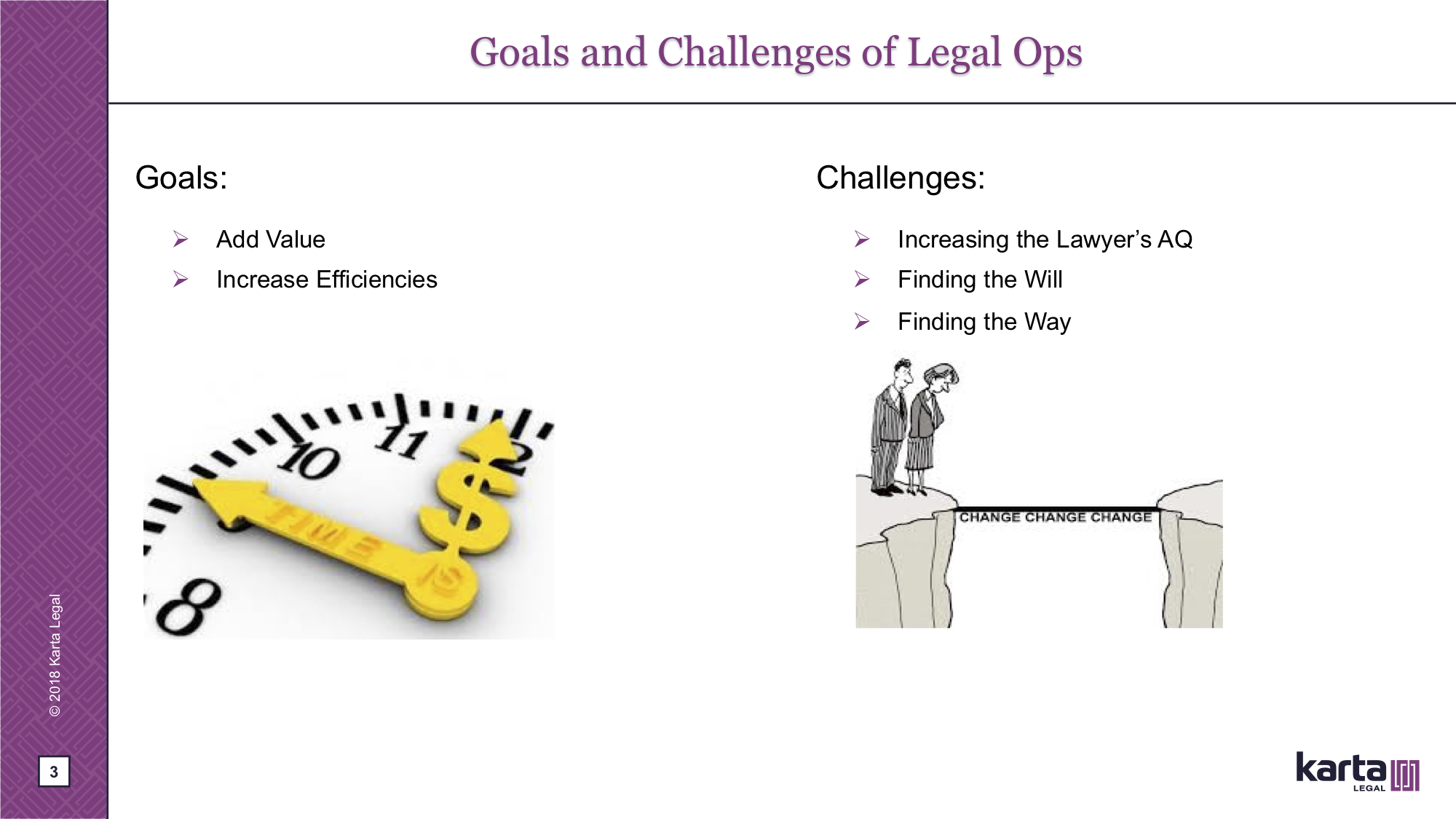 Goals and Challenge of Legal Ops
