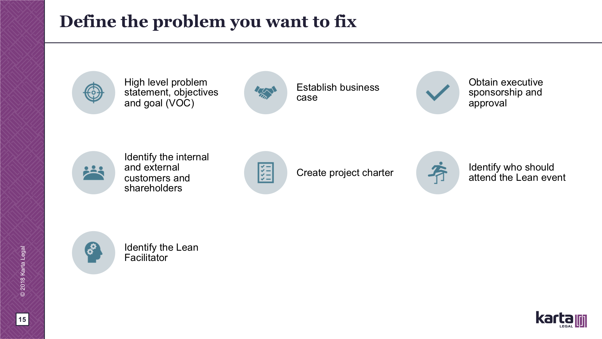 What problems you want to fix