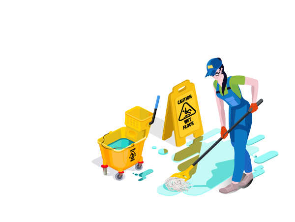 Cleaning graphic