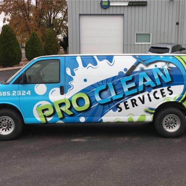 ProClean Services van