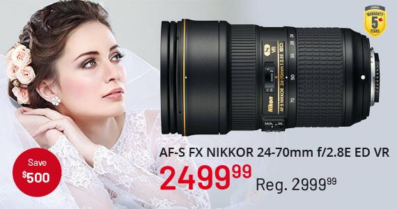 AF-S FX NIKKOR 24-70mm f/2.8E ED VR