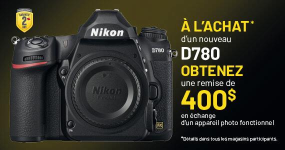 Échange D780