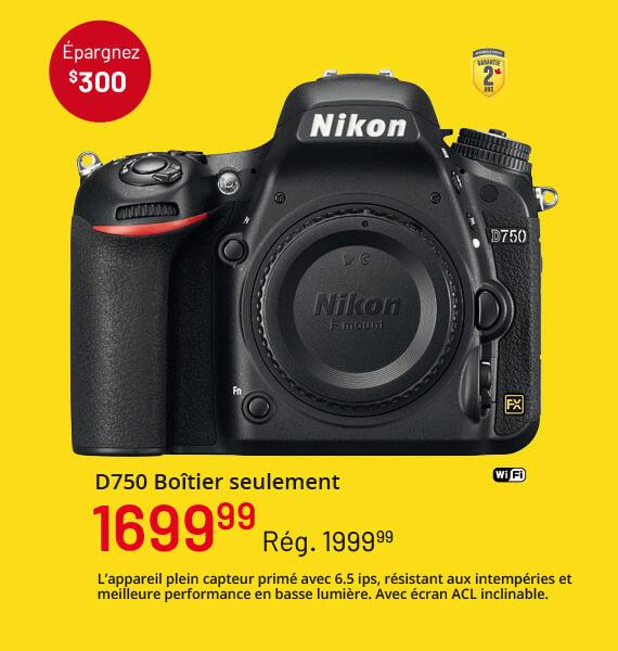 Nikon D750 Boîtier