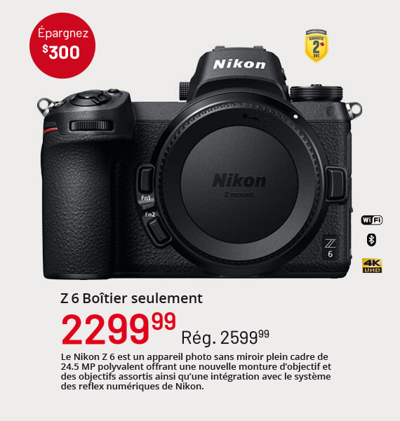 Nikon Z 6 Boîtier
