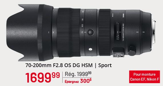 Sigma 70-200mm F2.8 OS DG HSM | Sport