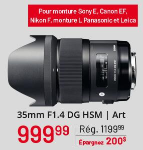 Sigma 35mm F1.4 DG HSM | Art