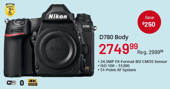 D780 Body