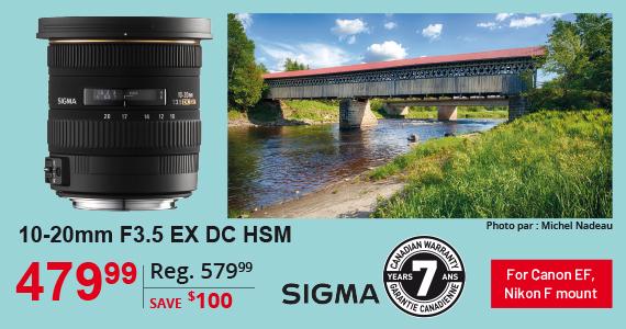 10-20mm F3.5 EX DC HSM Sigma