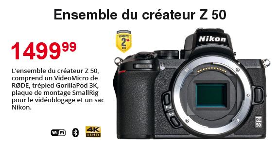 Z50 Ensamble du createur Z50