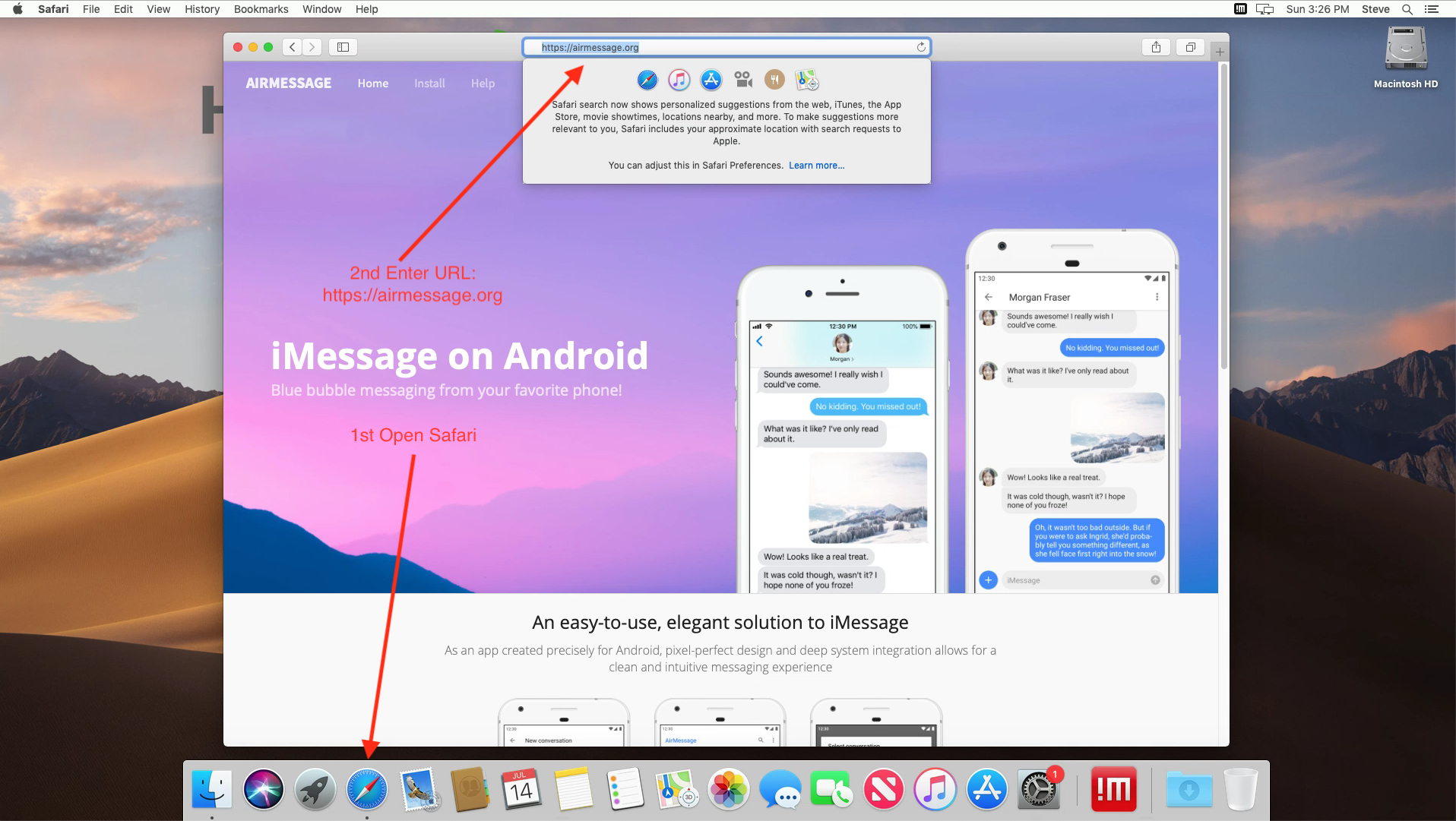HostMyApple's Blog — How to use iMessage on Android with