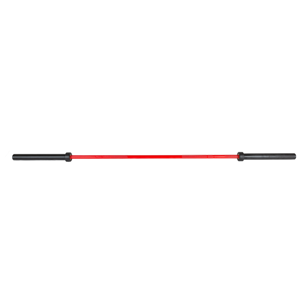 7' Ceramic Olympic Bar - 6 Needle Bearing (Red)